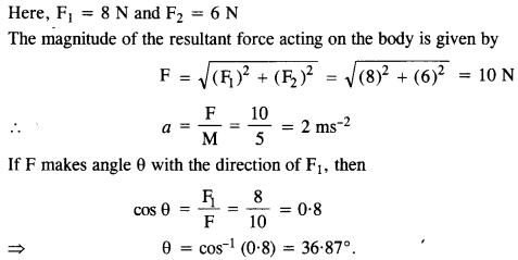 NCERT Solutions for Class 11 Physics Chapter 5 Laws of Motion 6