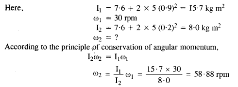 NCERT Solutions for Class 11 Physics Chapter 7 System of Particles and Rotational Motion 34