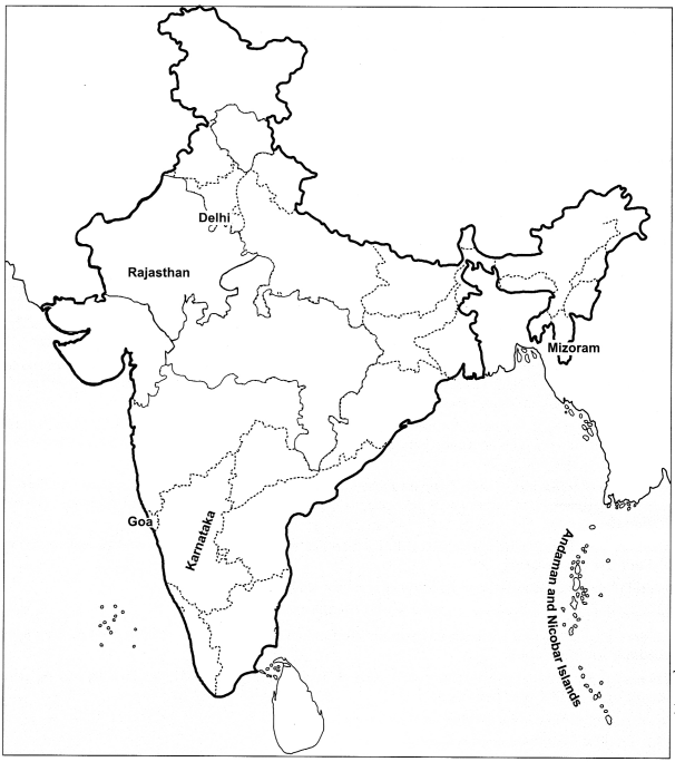 Class 6 Geography Chapter 7 Extra Questions and Answers Our Country India 3