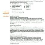 Software Engineer CV Example