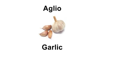 Names of vegetables - Names of vegetables - aglio