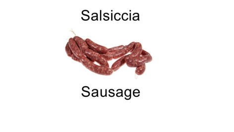 Salsiccia - Sausage