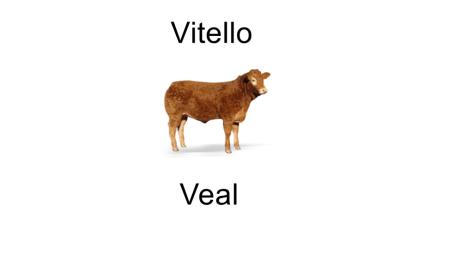 Italian meats - veal - vitello