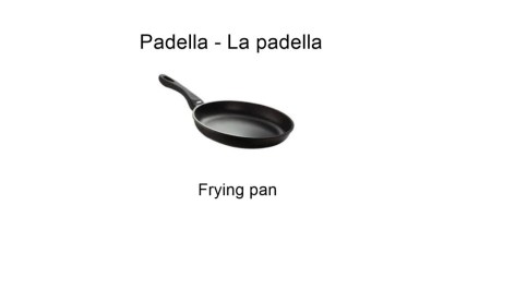 Padella - La padella - Frying pan
