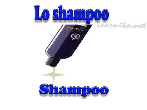 bathroom accessories names in italian
