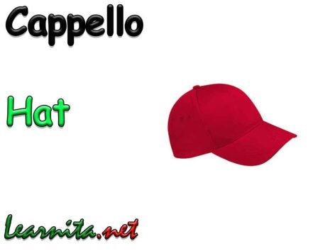 Hat in italian - cappello