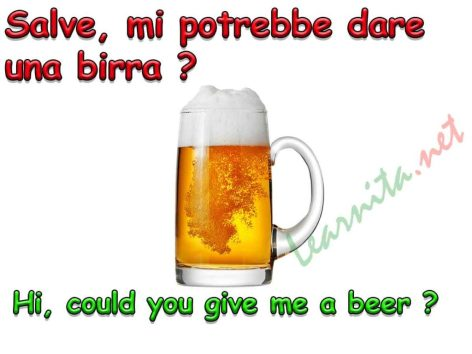 How to say beer in italian