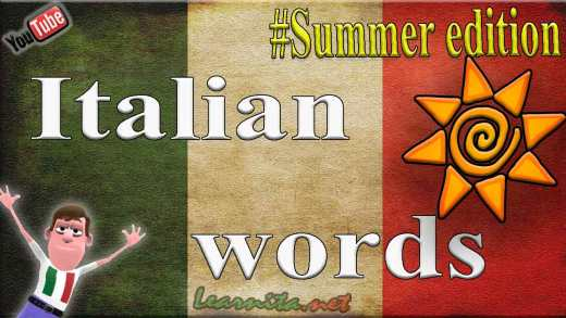 Italian words and phrases