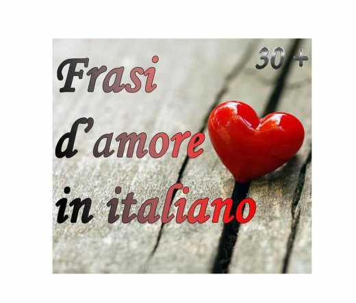 frasi d'amore in italiano