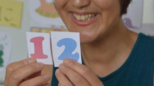 夏休みだよ!手遊びで数を数えちゃおう。海外日本語教育