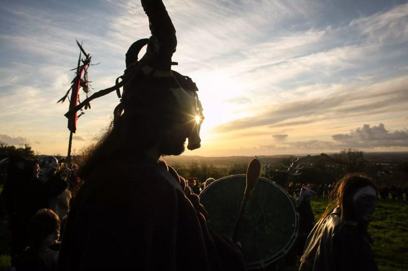 Le festival de Samhain est célébré à Glastonbury
