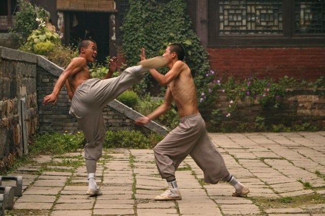 Sparring Monges Shaolin