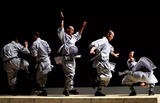 Monges Shaolin se apresentam na Austrália