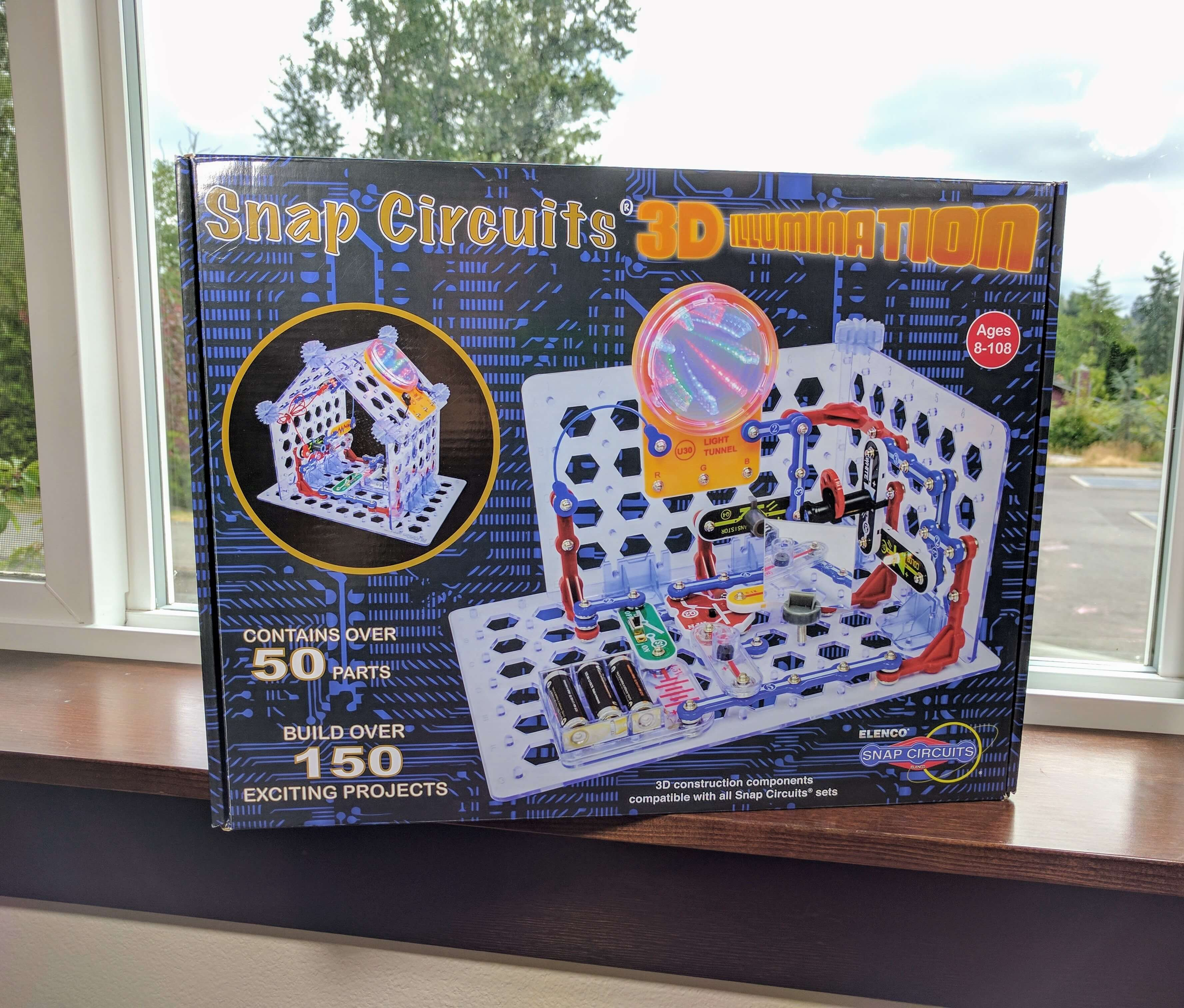 Snap Circuits 3d Illumination Review Electronics Kit Bliss Learn Circuitsr By Elencor Replacement Parts Richly