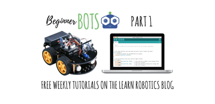 How To Build A Mobile Robot Using Arduino Part 1 Learn Robotics