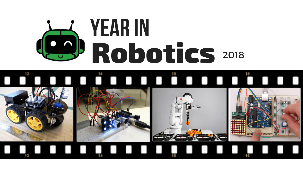 Robot Video Mash-Up Highlight Reel 2018