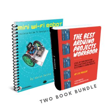 Arduino Robots & Project Workbook [BUNDLE]