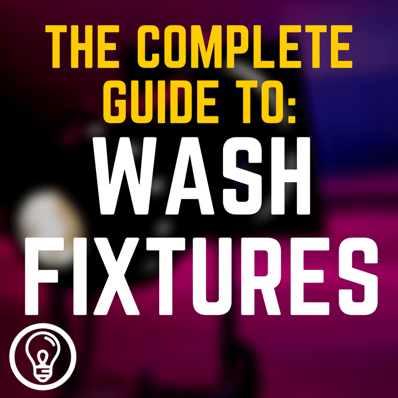 Today I want to take you on a tour through the different types of lighting fixtures that you may encounter. First up is the wash fixture  sc 1 st  Learn Stage Lighting .com & The Complete Guide to Wash Fixtures u2013 Learn Stage Lighting .com