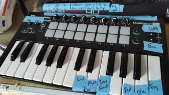 MIDI controller for lighting