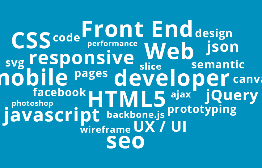 Few Front End frameworks