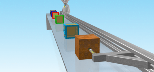 Mac uses a loading arm to accelerate a block to demonstrate Newton's second law of motion