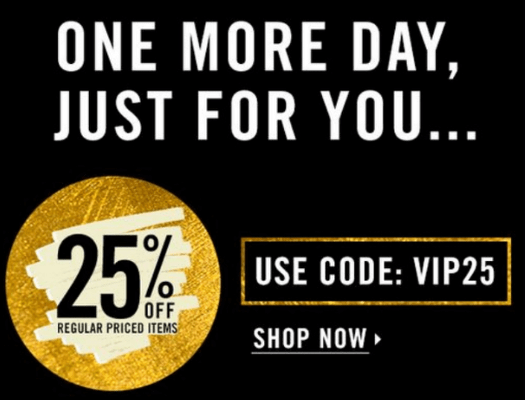Forever 21's email example