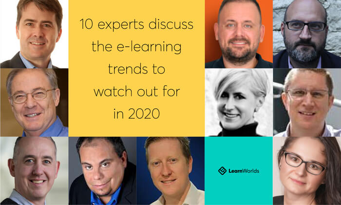 Experts talking about elearning trends in 2020