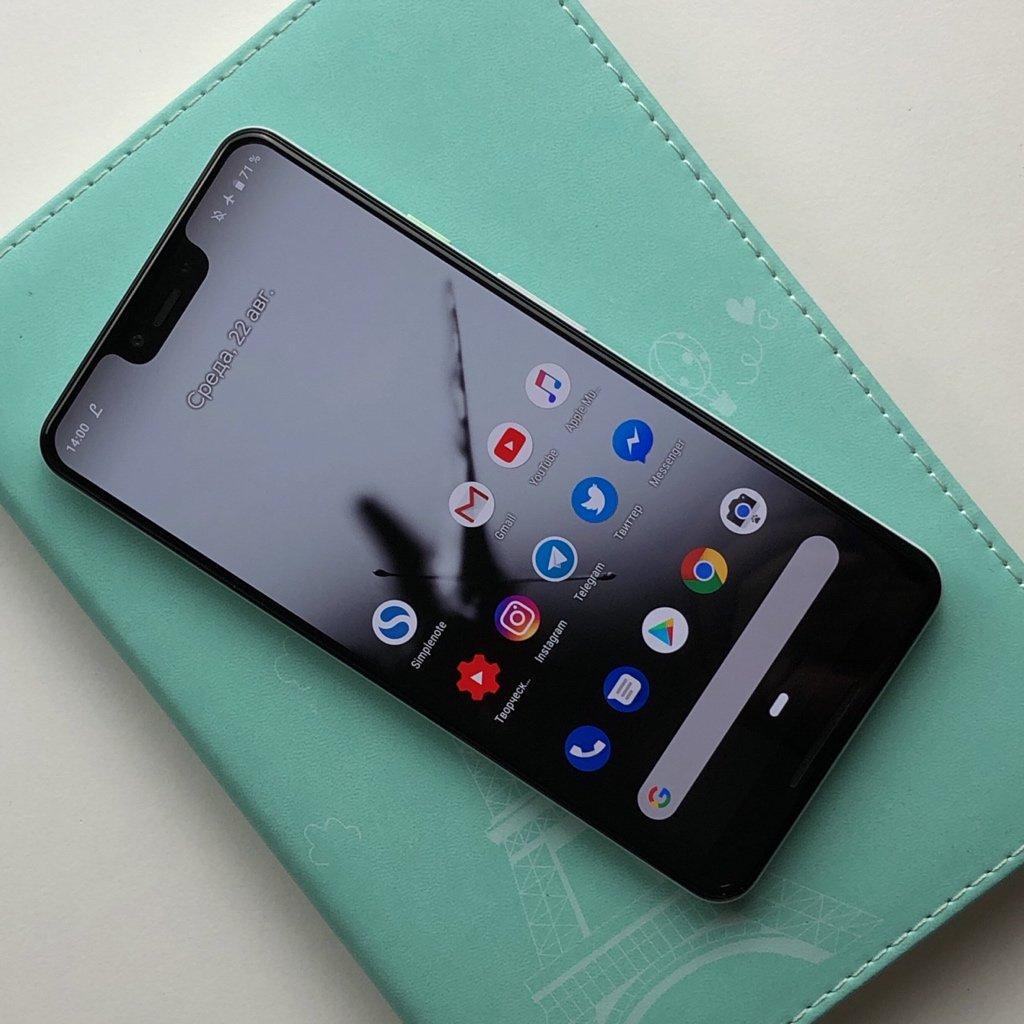 Le nouveau smartphone de Google : Pixel 3 XL
