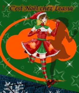 La Team Leasia vous souhaite une bonne semaine de Noel !