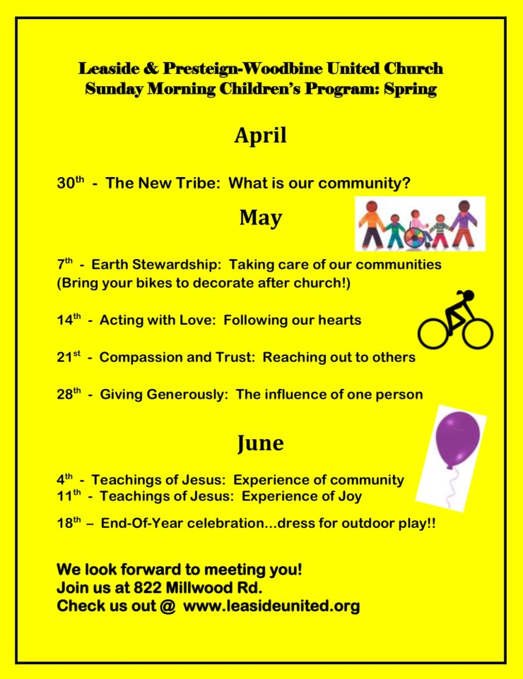 Sunday Morning Children's Program