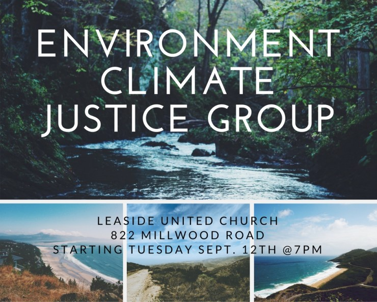 NEW! Environment Climate Justice Group