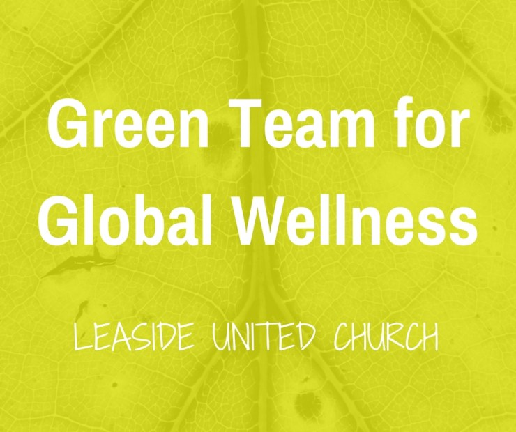 Time for a Change – Green Team for Global Wellness