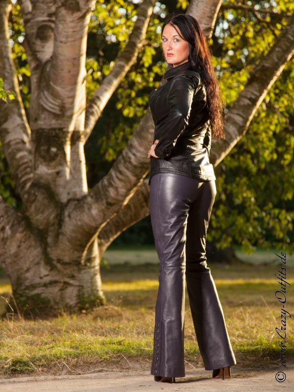 Leather Kingdom Fashion Shop Leather Trousers DS 408