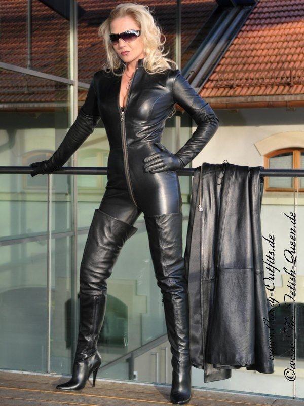 Leather Kingdom Fashion Shop Leather Catsuit 4 019