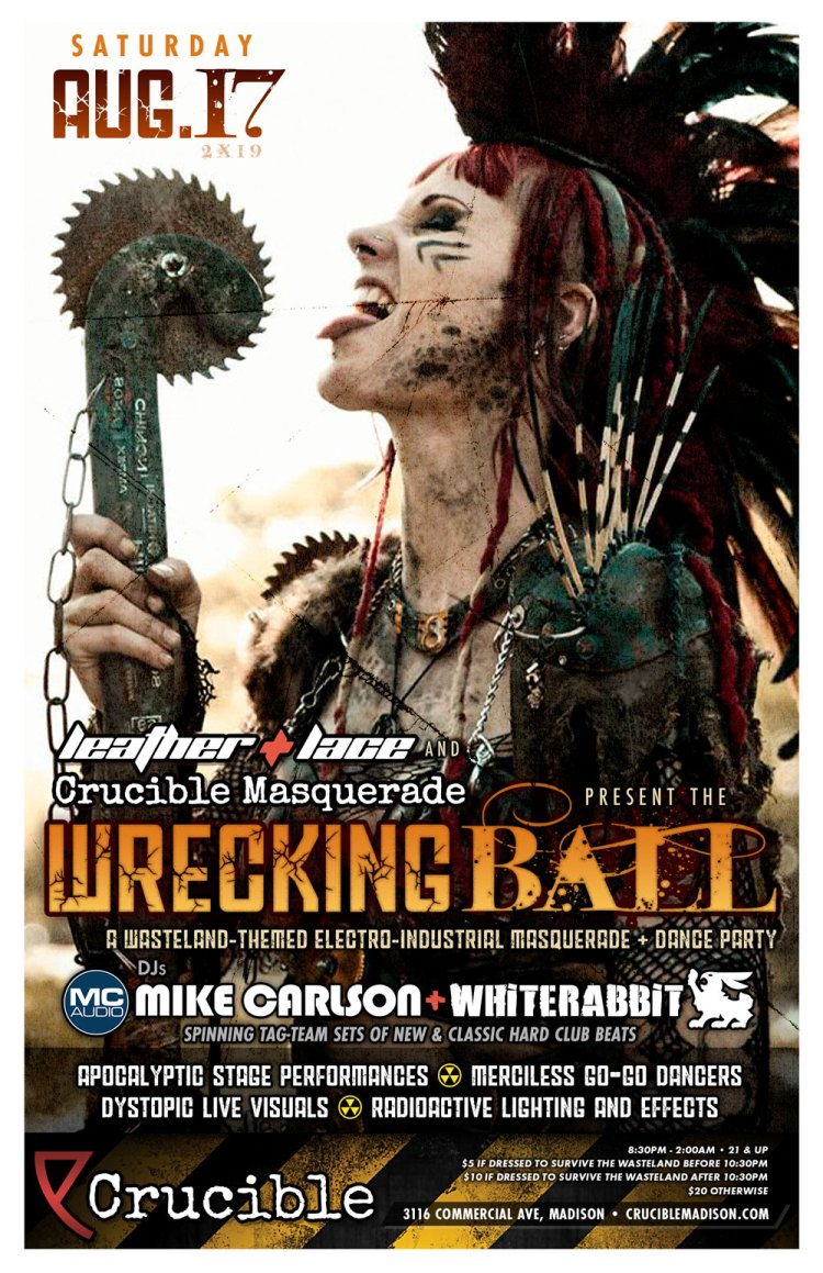 Leather + Lace presents The Wrecking Ball