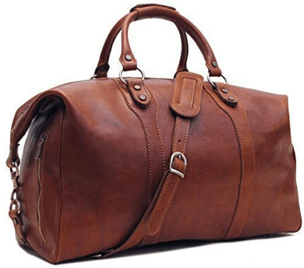 Floto Roma Leather Tablet Bag