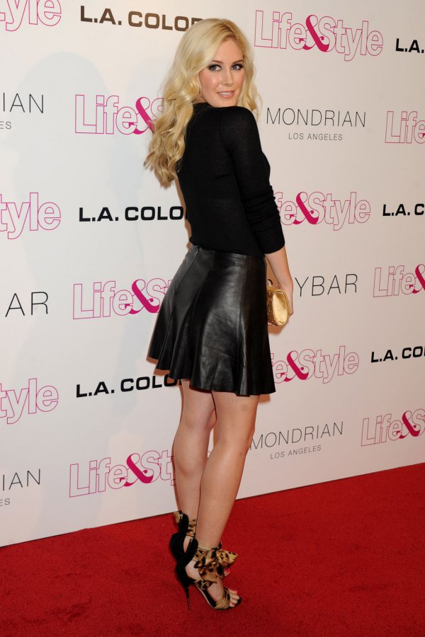Heidi Montag Attends Life Amp Style Weeklys 10th