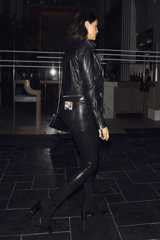 Eiza Gonzalez Is Seen Arriving At Leonardo Dicaprio S