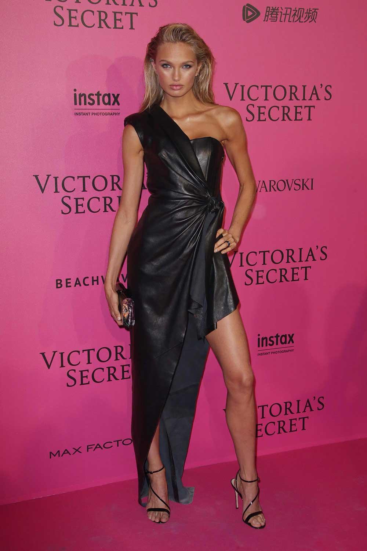 Romee Strijd Attends Victoria S Secret Fashion Show