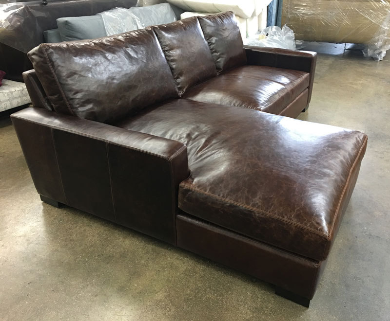 custom length braxton sofa chaise