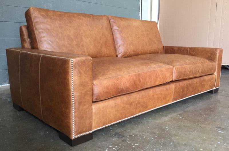 braxton leather sofa in italian
