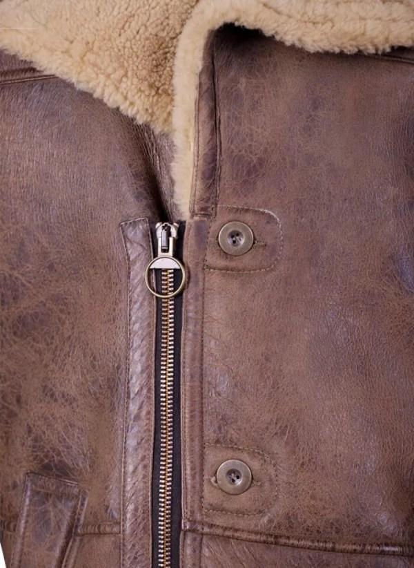 Shearling-Trench-Coat-Men-Black-Leather-Jacket-Pocket