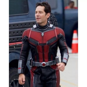 Paul Rudd Ant Man Leather Jacket