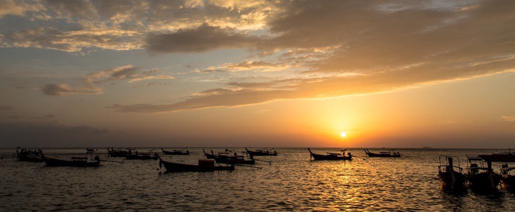 Fêter le nouvel an sur Koh Phi Phi