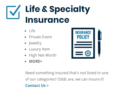 metro detroit and michigan life and specialty insurance