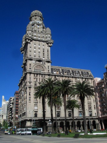 Palacio Salvo - my home for the time in Montevideo