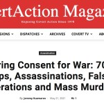 Manufacturing Consent for War-70 Years of CIA Coups Assassinations False Flag Operations and Mass Murder