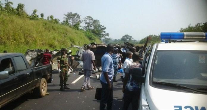 Un accident de circulation sur l'axe Katiola-Bouaké fait deux morts -  LeBabi.net
