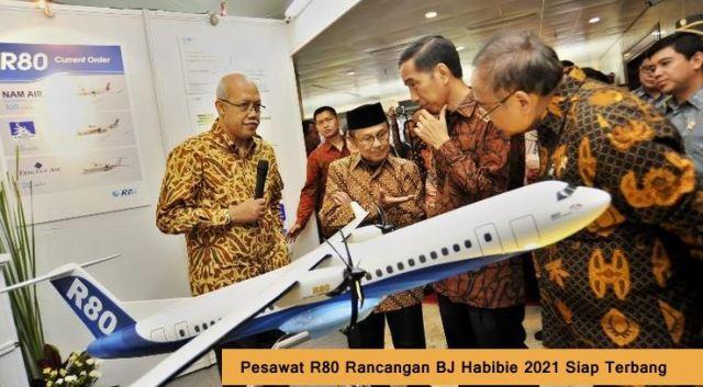 Pesawat R80 Bj Habibie