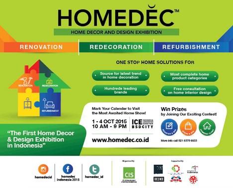 Home Decor Indonesia Convention Exhibition